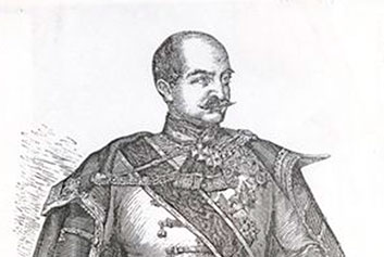 Ban Jelačić Licks His Lips for a Taste of Gavrilović's Salami