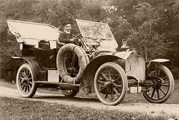 The First Automobile of Gjuro Gavrilović I
