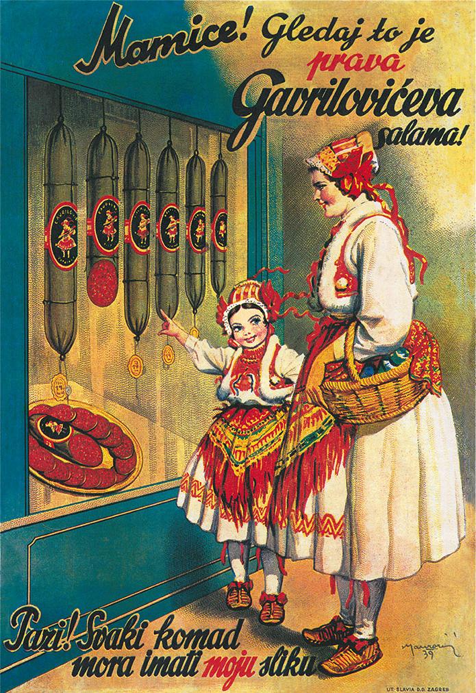 Andrija Maurović poster 1939.