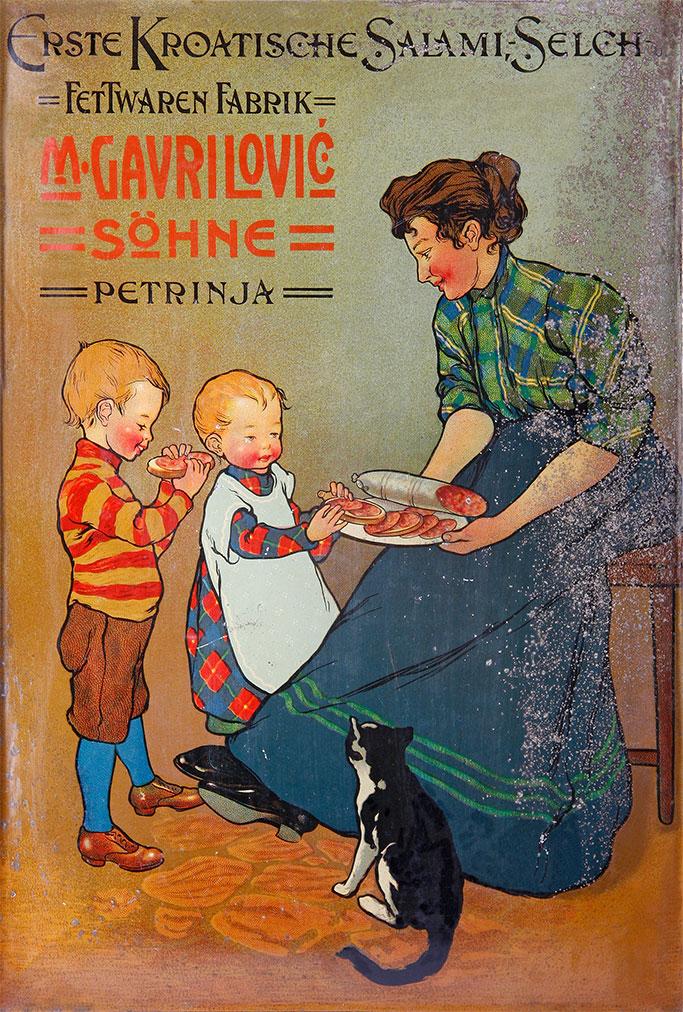 Reklama autor nepoznat 1900.