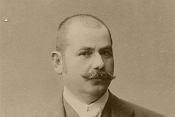 Stjepan Gavrilović, prvi poslovnjak i damenfreund