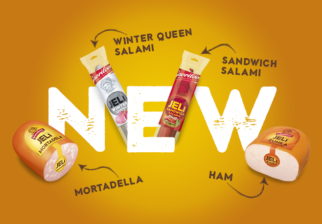 New products from the JELI range!